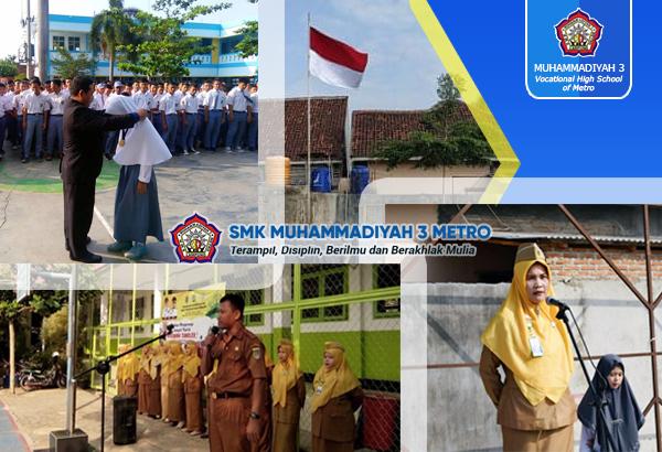 Resonansi 3 Kepala SMK Muhammadiyah Kota Metro
