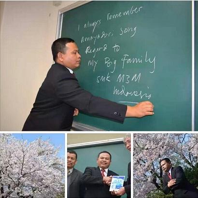 Kepala SMK Muhammadiyah 3 Metro Lakukan Study Exchange Ke Jepang