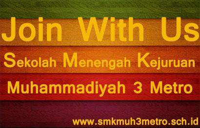 INFORMASI PENERIMAAN GURU DAN STAF SMK MUHAMMADIYAH 3 METRO !!